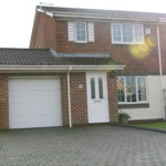 Exterior of semi detached in boldon